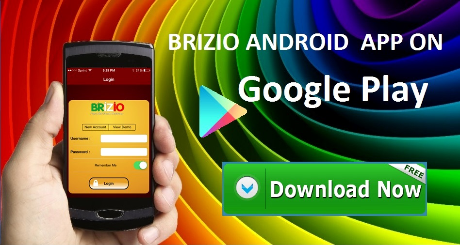 Brizio Android App on Google Pplay. Download Now